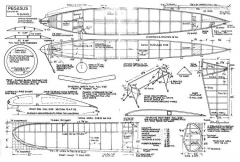 Pegasus model airplane plan