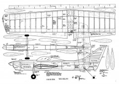 Pegasus CL model airplane plan