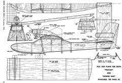 Pelican Willard model airplane plan