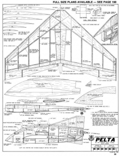 Pelta-RCM-03-80-792 model airplane plan