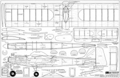 Penetrator model airplane plan