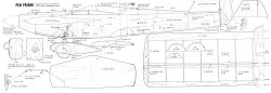 Penfriend model airplane plan