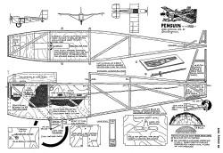 Penguin-AAM-01-72 model airplane plan
