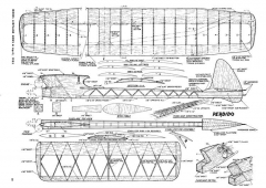 Perdido model airplane plan