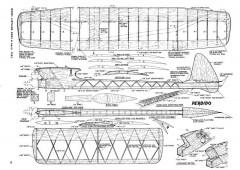 Perdido model airplane plan