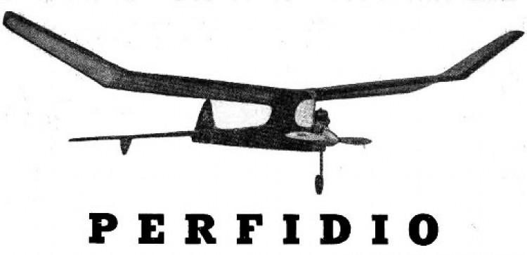 Perfidio model airplane plan