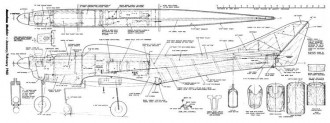Perigee model airplane plan
