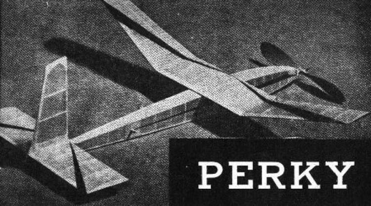 Perky model airplane plan
