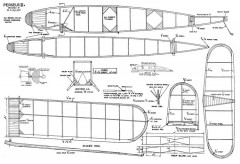 Perseus IIIa model airplane plan