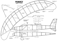 Persey model airplane plan