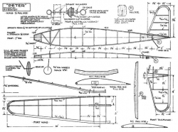 Peter model airplane plan