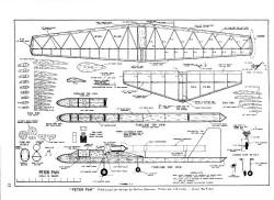 Peter Pan model airplane plan