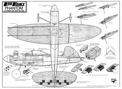 Phantom full model airplane plan