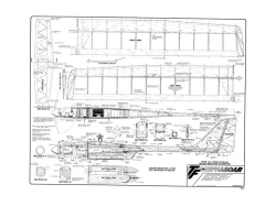 Phasoar electric model airplane plan