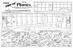 Phoenix 60in model airplane plan