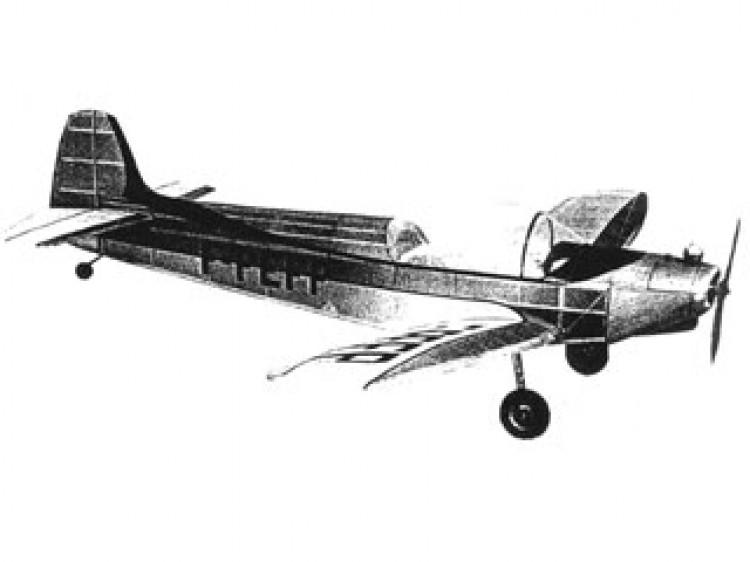Piel CP-301B Emeraude model airplane plan
