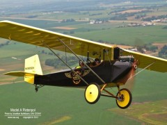 Pietenpol Air Camper model airplane plan