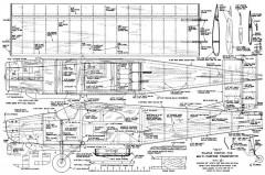 Pilatus Porter 68in model airplane plan
