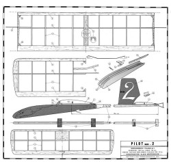 Pilot MK II model airplane plan