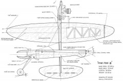 Pink Fink III model airplane plan