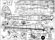 Piper Cub 70in model airplane plan
