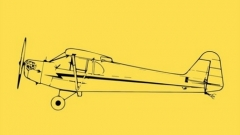 Piper J-3 CUB CL model airplane plan