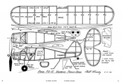 Piper PA-15-MB-10-73 model airplane plan