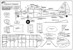 Piper PA-18 Portatil model airplane plan