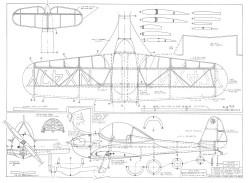 Piper PA-8 Skycycle JBale model airplane plan