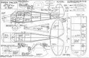 Piper Pacer model airplane plan