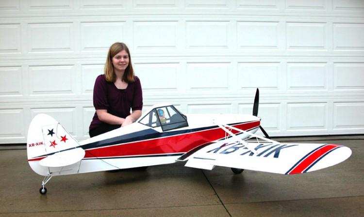 piper pawnee model airplane plan