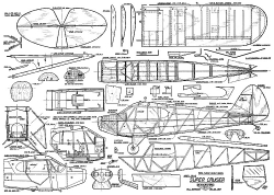 Piper Super Cruiser FF model airplane plan