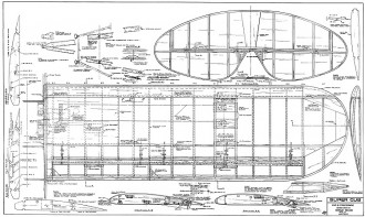Piper Super Cub 106in model airplane plan