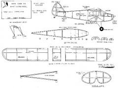 Piper Super Cub model airplane plan