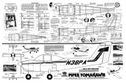 Piper Tomahawk model airplane plan