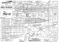 Piper Tri-Pacer model airplane plan