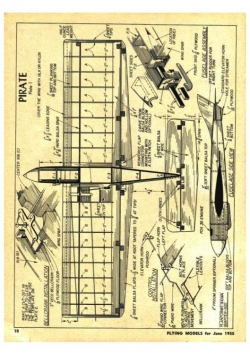 Pirate model airplane plan