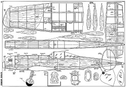 Pirate III-FM-05-67 model airplane plan