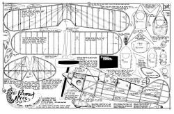Peanut Pitts model airplane plan