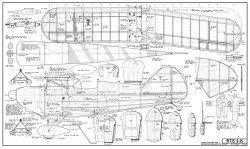 Pitts S-1S 48in model airplane plan