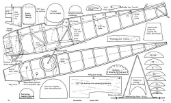 Pixie 2 model airplane plan