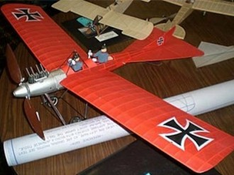 Plage Court Torpedo II model airplane plan