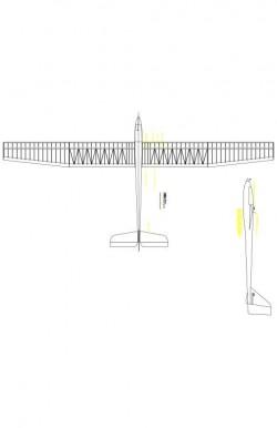 Planer2 Model 1 model airplane plan