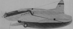 Plato model airplane plan