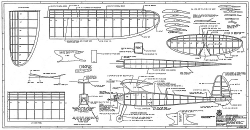 Playboy Senior RCM-1283 model airplane plan