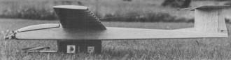Pocket Soarer model airplane plan