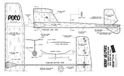 Poco 1 model airplane plan
