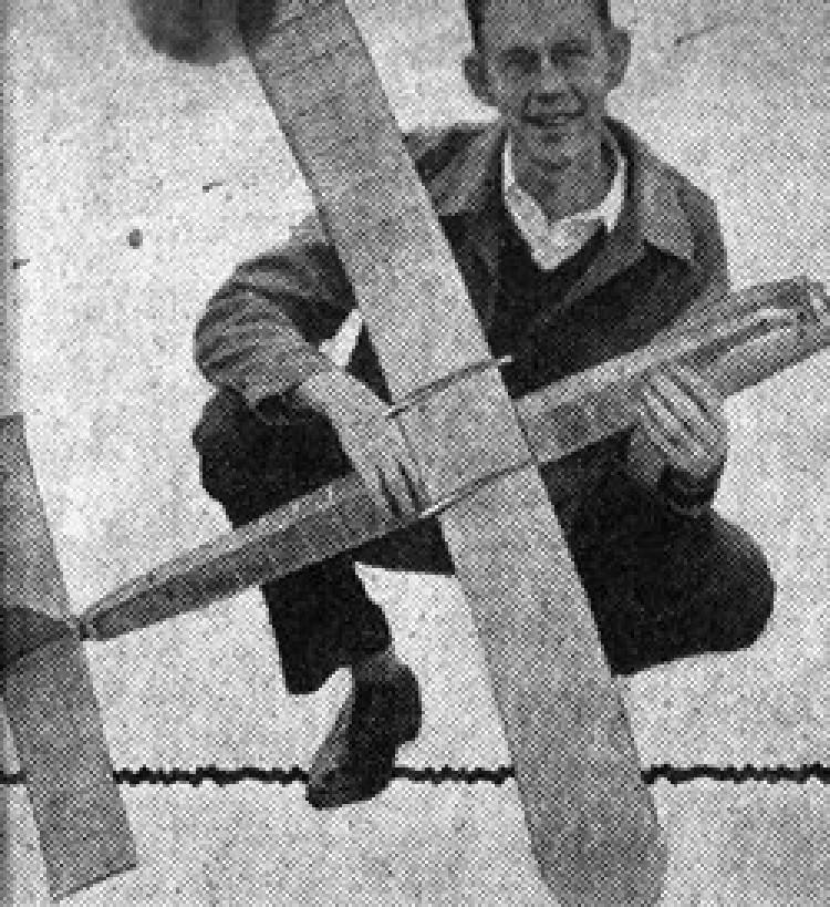 Pogo Stick model airplane plan