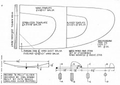 Polly HLG 1948 model airplane plan