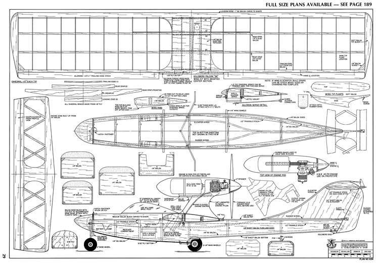 Pondhopper-RCM-03-76-634 model airplane plan